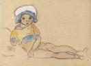 Louis Valtat - Enfant sur la plage