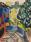 Kerkovius, Ida - Watercolor