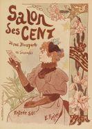 Edmond André Rocher - Ausstellungsplakat: Salon des Cent