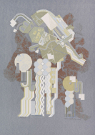 Paolozzi, Eduardo - Silkscreen in colors