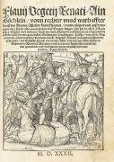 Augsburg - Sammelband Holzschnittb�cher. 1529-32