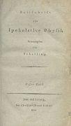 Friedrich Wilhelm Schelling - Spekulative Physik
