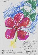Otto Piene - Sammlung von 13 Briefen + Karten. Tlw. mit Zeichnungen