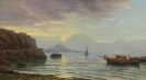 Skandinavien - Nordische K�stenlandschaft mit Fischerbooten