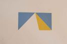 Max Bill - Die Spitze der Pyramide. 1981 (mit Folie)