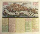 Marino Italien - 1 Bl. Carte du Plan de Venise (H. A. Chatelain).