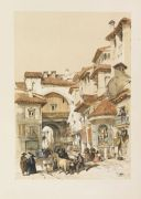 David Roberts - Sketches in Spain. 1837