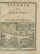 Volksb�cher - Floris, Frans, Istoria di Florindo. Ca. 1790