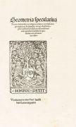Thomas Bradwardine - Geometria speculativa. 1511