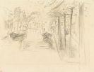 Max Liebermann - Haarlem (Sign. Orig.-Bleistiftzeichnung)