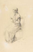 Wilhelm Busch - 2 sign. Orig-Zeichnungen auf 1 Blatt