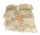 Antonio Architektur - Cades, Joseph, Sammlung von ca. 2000 Architektur-Zeichnungen auf Transparent-Papier
