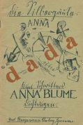 Kurt Schwitters - Anna Blume. 2. Ausgabe