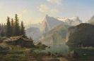 Johannes Bartholom�us Duntze - Am Vierwaldst�ttersee