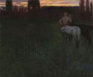 Franz von Stuck - Sonnenuntergang