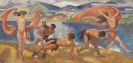 Ludwig von Hofmann - Tanzende in weiter Landschaft