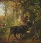 Friedrich Voltz - Der wildgewordene Stier
