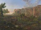 Johann Martin von Rohden - Ansicht des Heidelberger Schlosses