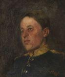 Wilhelm Tr�bner - Nikolaus Tr�bner als Dragoner