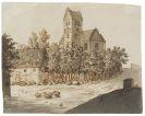 Caspar David Friedrich - Kirche von Lyngby