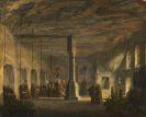 Domenico Quaglio - Innenansicht der St. Maximuskapelle in Salzburg