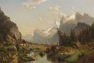 Johannes Bartholom�us Duntze - Das Gasterntal im Berner Oberland