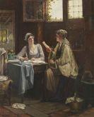 Edward Antoon Portielje - Der Brief