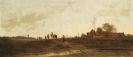 Adolf Heinrich Lier - Heimkehr der Landleute am Abend bei Pang III