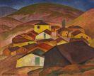 Gustav Wunderwald - Gebirgsdorf in Mazedonien