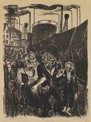 Conrad Felixm�ller - Im Kohlerevier (Heimkehr der Kohlenarbeiter)