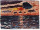Alexej von Jawlensky - Sonnenuntergang, Borkum