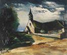 Maurice de Vlaminck - Maisons dans les champs (L'�glise)