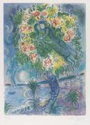 Marc Chagall - Couple et Poisson