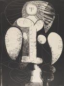 Pablo Picasso - Femme au fauteuil (II.), no 2 (d�apr�s le vert)