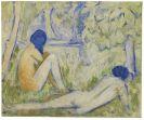 Otto Mueller - Zwei M�dchen auf der Waldwiese/Zwei Akte auf Waldwiese/Im Gras