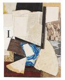 Kurt Schwitters - Ohne Titel (Spitzbergen), Merzzeichnung