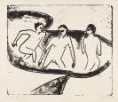 Ernst Ludwig Kirchner - Drei Akte im Wasser, Moritzburg