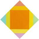 Max Bill - Zerstrahlung von Orange