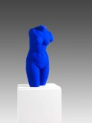 Yves Klein - Venus Bleue (La V�nus d'Alexandrie)