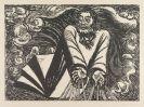 Ernst Barlach - Der erste Tag, aus: Die Wandlungen Gottes