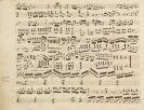 Musik - 2 Notenmanuskripte (Abschriften), nach 1825.