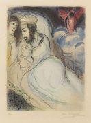 Marc Chagall - Sarah und Abimelech