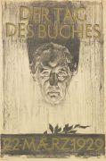 Walter Tiemann - Plakat: Der Tag des Buches, 22. März 1929