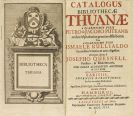 - Catalogus bibliothecae Thuanae