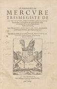 Hermes Trismegistos - Le Pimandre de Mercure Trism�giste