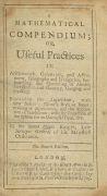 Jonas Moore - Mathematical compendium. 1705.