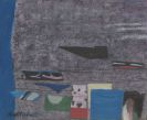 Arnold Fiedler - Nachtflug auf grauem Himmel