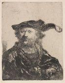 Harmensz. Rembrandt van Rijn - 5 Radierungen (spätere Drucke)