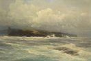Hugo Schnars-Alquist - Blick auf die Cliffs of Moher, Irland