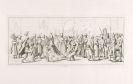Hjalmar von Mörner - Il Carnevale di Roma. 1820.
